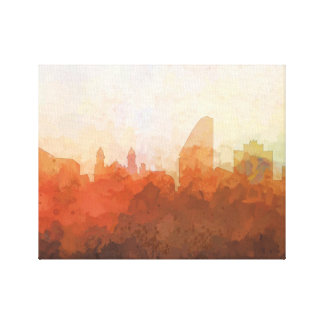 SAN JOSE, CALIFORNIA SKYLINE-In the Clouds Canvas Canvas Print