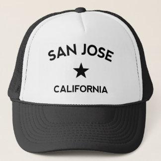 San Jose California Trucker Cap