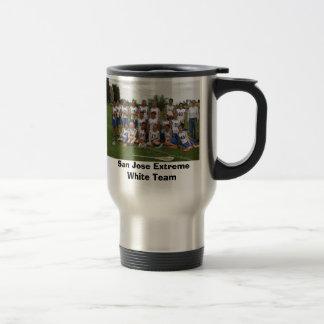 San Jose Extreme White Team Travel Mug