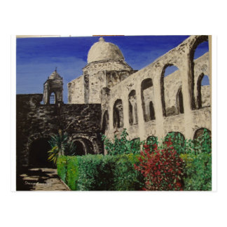 San Jose Mission Painting Postcard