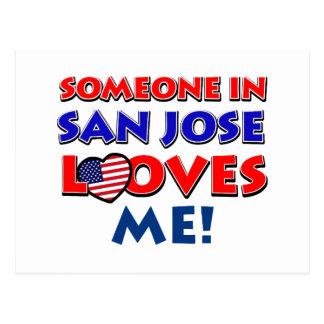 san jose USA designs Postcard