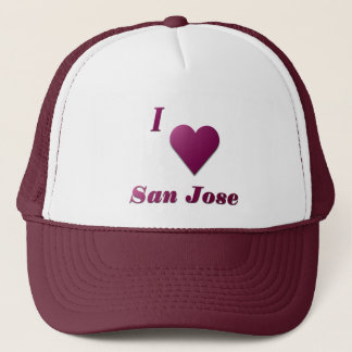 San Jose -- Wine Trucker Hat