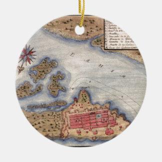 San Juan 1770 Ceramic Ornament