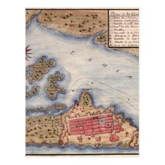 San Juan 1770 Postcard