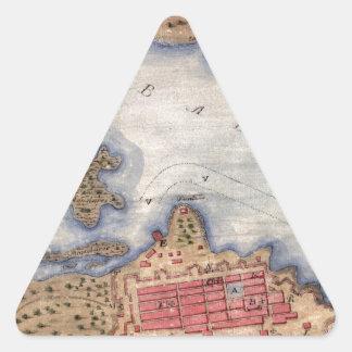 San Juan 1770 Triangle Sticker