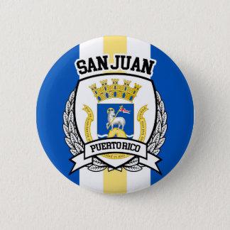 San Juan 6 Cm Round Badge
