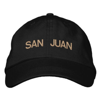 San Juan Cap Embroidered Baseball Cap