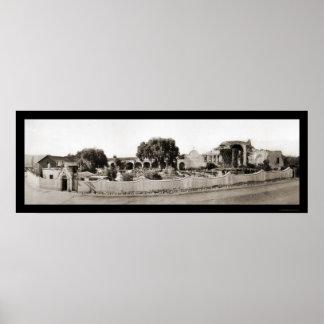 San Juan Capistrano CA Photo 1926 Poster