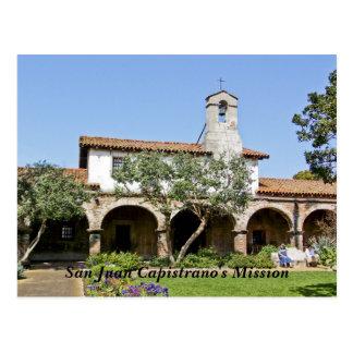 San Juan Capistrano's Mission Postcard