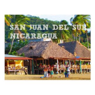 San Juan del Sur, Nicaragua Beach Postcard