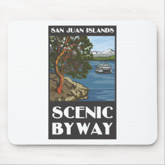 San Juan Island Scenic Byway Mouse Pad