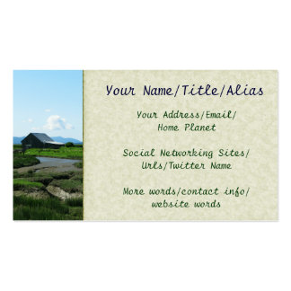 San Juan Islands Hills Double-Sided Standard Business Cards (Pack Of 100)