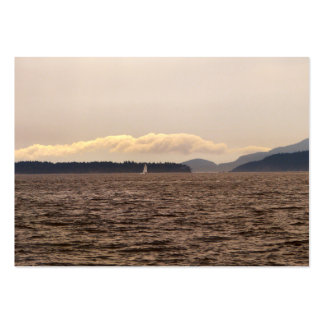 San Juan Islands Sail Pack Of Chubby Business Cards