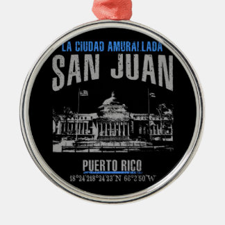 San Juan Metal Ornament