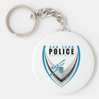 San Juan Police Key Ring