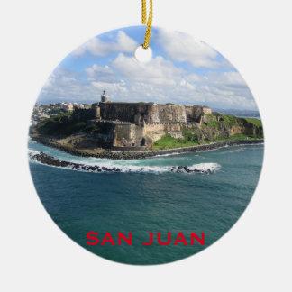 San Juan Puerto Rico Christmas Ornament