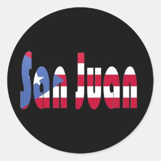 San Juan, Puerto Rico Classic Round Sticker