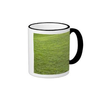 San Juan, Puerto Rico - Green grass is Ringer Mug