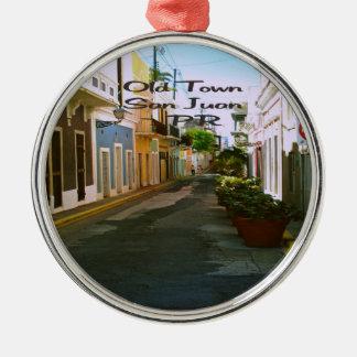 San Juan Puerto Rico Metal Ornament