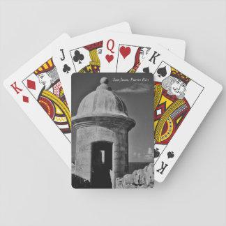 San Juan, Puerto Rico Poker Deck