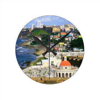 San Juan Puerto Rico Round Clock