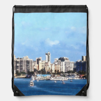 San Juan Skyline Drawstring Bag