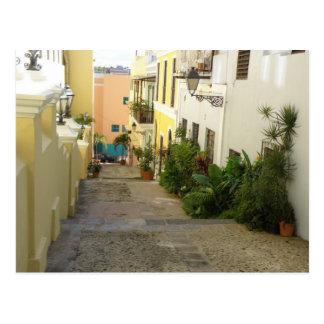 San Juan Street Postcard