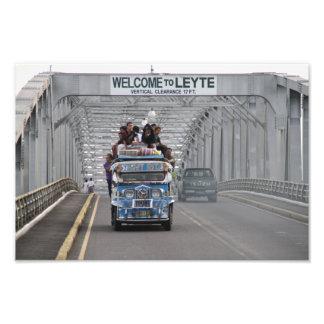 San Juanico Bridge Art Photo