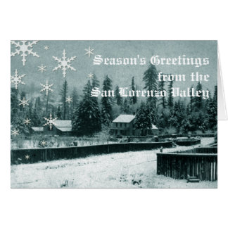 San Lorenzo Valley Holiday Card