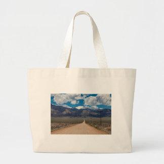San Luis Valley Back Road Cruising Large Tote Bag