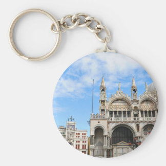 San Marco square in Venice, Italy Key Ring