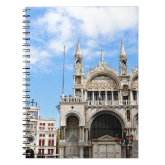 San Marco square in Venice, Italy Notebook
