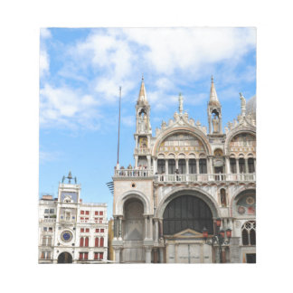 San Marco square in Venice, Italy Notepad
