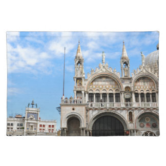 San Marco square in Venice, Italy Placemat