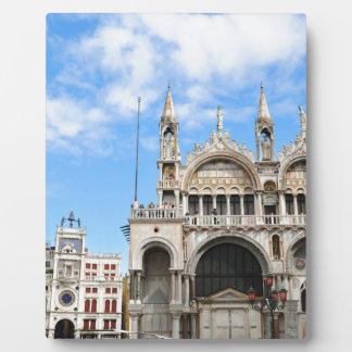 San Marco square in Venice, Italy Plaque