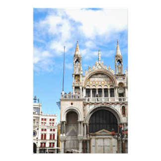 San Marco square in Venice, Italy Stationery