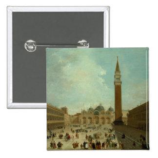 San Marco, Venice 15 Cm Square Badge