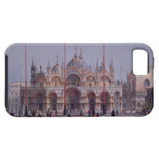 San Marco, Venice, engraved by Brizeghel (litho) iPhone 5 Cover