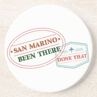 San Marino Been There Done That Coaster