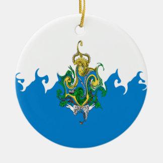 San Marino Gnarly Flag Ornaments