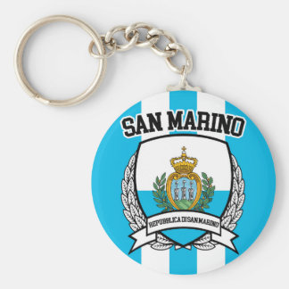 San Marino Key Ring