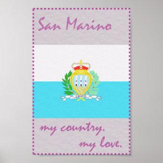 San Marino My Country My Love Poster