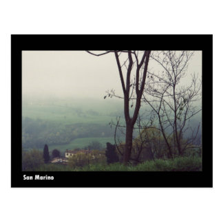 San Marino Postcard
