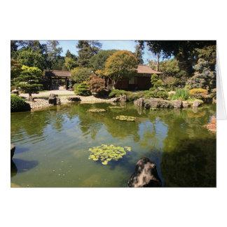 San Mateo Japanese Garden Greeting Card