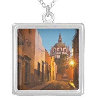 San Miguel de Allende, Mexico. Credit as: Nancy Square Pendant Necklace