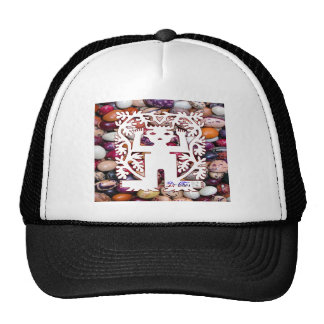 SAN PABLITO SEED SPIRITS BEANS COLOR CUSTOMIZABLE TRUCKER HATS