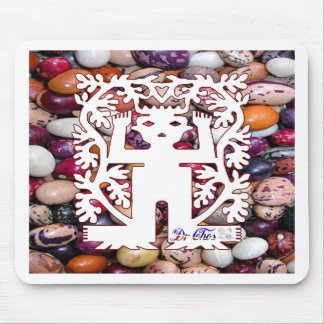 SAN PABLITO SEED SPIRITS BEANS COLOR CUSTOMIZABLE MOUSE PAD