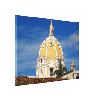 San Pedro Cathedral Cartagena Canvas Print
