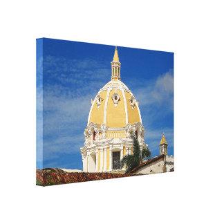 San Pedro Cathedral Cartagena Canvas Print