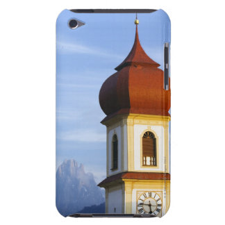San Pietro church, Dolomites, Italy Barely There iPod Cases